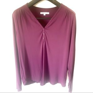 3/$20🌸Cleo long sleeve purple top